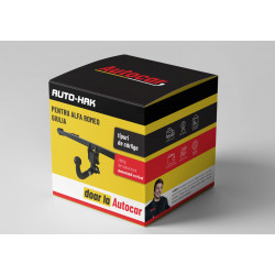 Cârlig de remorcare pentru ALFA Romeo Giulia - sistem detasabil vertical cu cheie- 04.2016/-