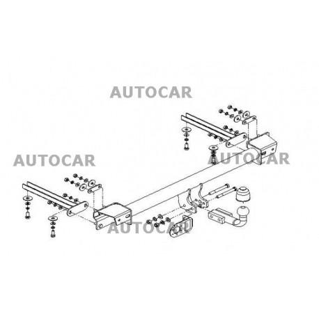 Cârlig de remorcare pentru seria 3 - combi, 4dv., coupe (E 30) - 2xxx - sistem automatic - din 1987/08 până 1993/12